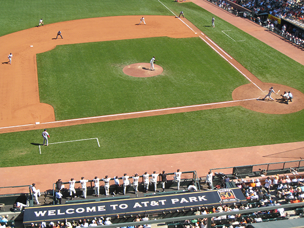Photo of San Francisco Giants game