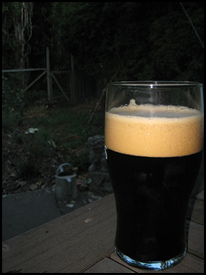 Photo of pint glass of porter