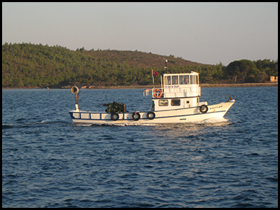 Photo of Turkish fishing vessel